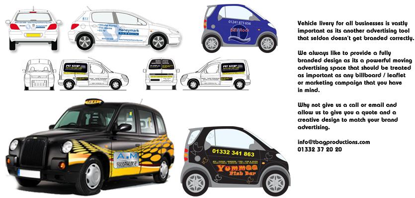 creative vehicle livery, vehicle graphics