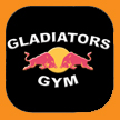 Gladiators Gym, Derby, long eaton print and design